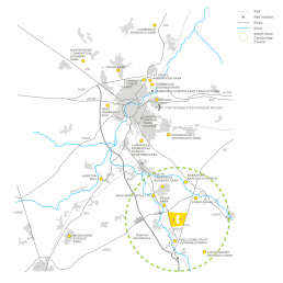 Cambridge South East Cluster Map