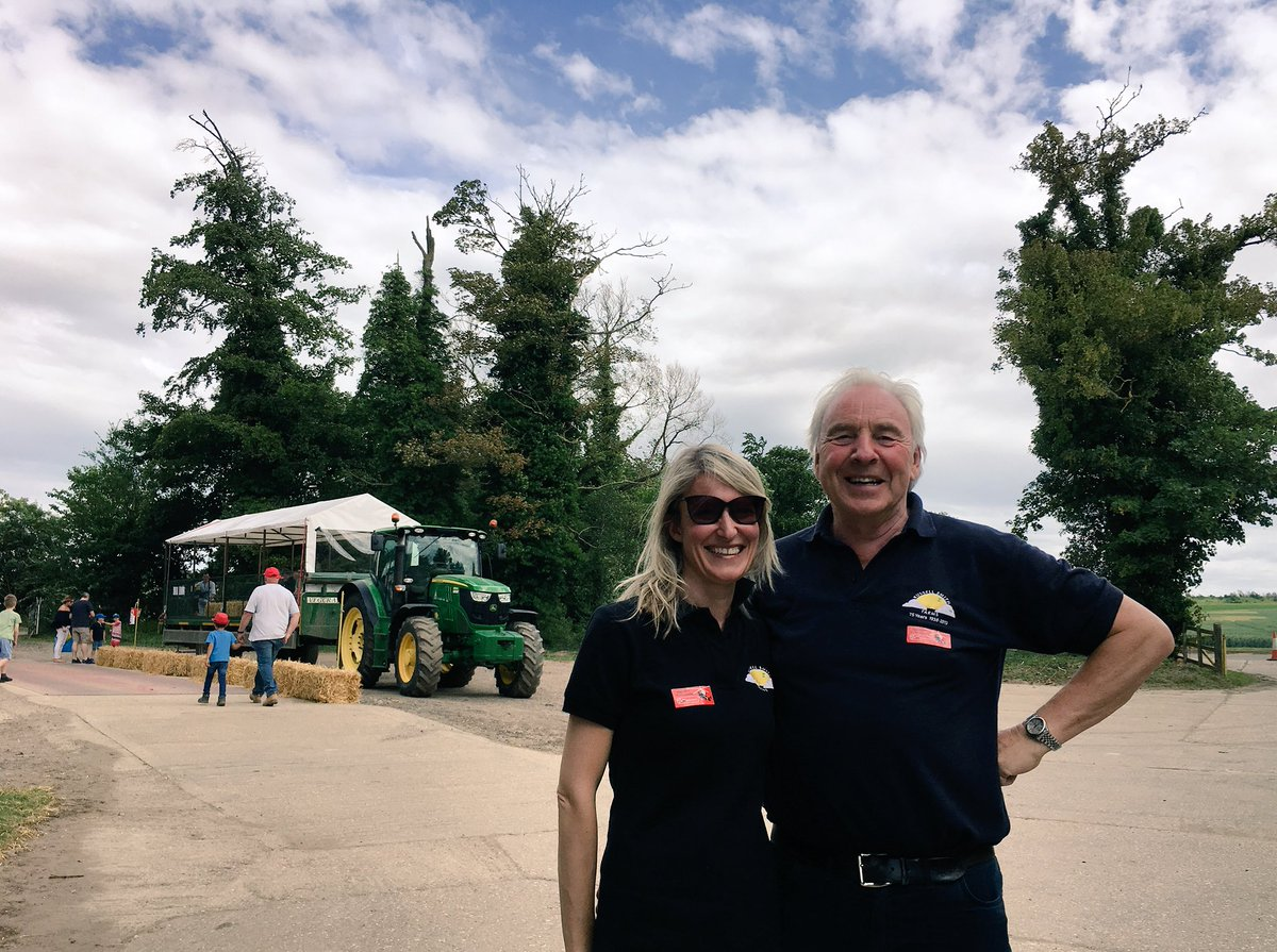 Robert Smith and Claire Smith of Russell Smith Farms