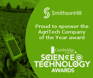 SmithsonHill proud to sponsor the AgriTech Company of the Year Award