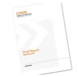 Cover of a report