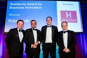 Accepting Cambridge News Award