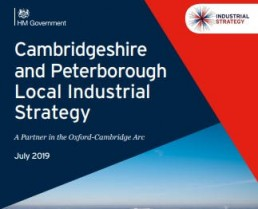 Cover of the Cambridgeshire and Peterborough Local Industrial Strategy