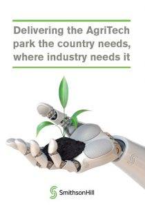 Delivering the AgriTech park the country needs, where industry needs it - Policy Briefing cover image